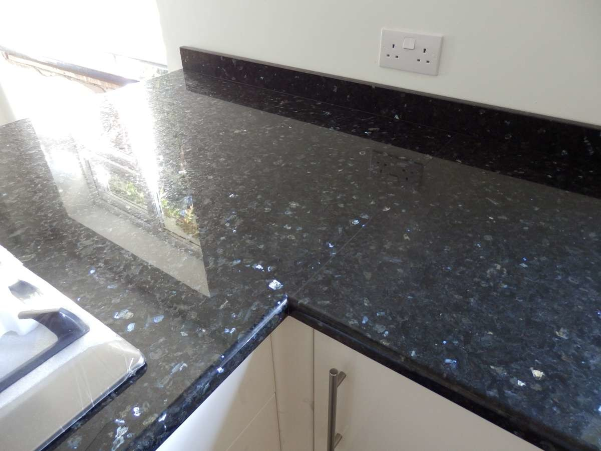 Emerald Pearl Granite Kitchen Worktops West Sussex Ccg